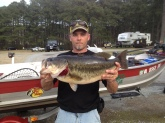 Fishing a local tournament I landed  this 9lb 12oz pig on 8lb florocarbon using a 4