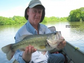 Caught this 6 pounder at a local lake on 5/17/2013. Allentown Lake, NJ. Caught her on a 5