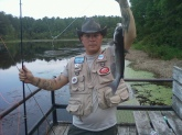 Channel catfish. Caught on Fort Bragg, north Carolina.