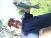I caught this one at shingle creek Orlando Florida. It was small in weight about 2 lb
