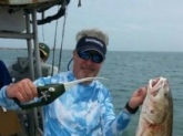 Caught on a Ronco Pocket Fisherman in the jetties near Port O'Connor. Booyah... Sardines.