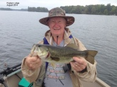 8/2014  Fun fishing at Poplars Lodge on Newboro Lake, Ontario Canada Went with 6 of my relatives. All had a great time and caught Bass & Pike. Plenty of bonding and harassing going on.Looking forward to next year!!!  Good Fishing  Fran
