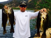 Caught all four in Ojai ca  Each weighing well over 2lbs