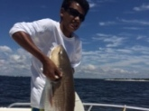 My son caught a 40lb red in panama city
