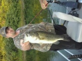 Caught in fulton county il. Weight 8lbs 12oz biggest bass I've ever caught!