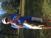 8.7lbs caught 10-30-16 #5Shad rap in a private pond in Coolidge, Ga