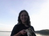 My birthday bass a few years back! Tennessee River!