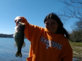 Best catch this year, cottonport boat ramp! Tennessee River!!!