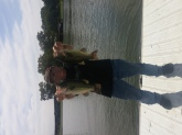 2 largemouth caught on Old Hickory lake.2lbs 7oz and 3lb 1 oz