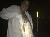 Redfish Caught in Saint Augustine,Florida in the Intercoastal waterway.