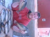 in a from pond it was fun 13inc crappie 1.5 bonds