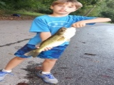 This is just one of the beauties my son Aiden has caught in the Susquehanna River in Etters PA.