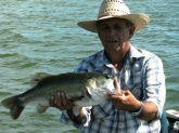 Sergio Malacara Caught this Bass on Cuchillo Lake, Mexico
