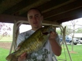 4 lbs. small mouth...tippy river in Indiana