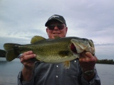 Claud Reeves, from Dayton, TN, caught this 6lb bass april 16 using a zoom horny toad over pond grass.  He is retired and tries to fish as much as he can.