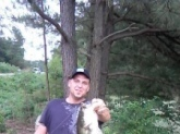 I caught this fish in a local pond in Lexington NC. It weighed in at 6 1/2 lbs.