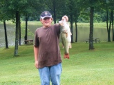 this was caught on july 4,2009 in missouri on my uncle toms farm i was using a bill dance signature lure..... your awesome.....!!!!!!