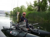 This Clearlake bass fell for a River2Sea frog.