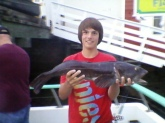 i caughted this fish right out of morro bay... i deckhand on the boat.. i5lbs and 32 inches..