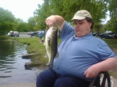 This another Largemouth Bass that I caught on Saratoga Lake in Upstate NY also on Memorial Day 2009