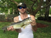 Caught in Lake Worth, Florida 4 lbs. 17 Inches