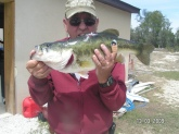 I caught this fish on Lake June in the winter, it was 7lbs 1oz, and my bait was live shiners, that lake is in Florida