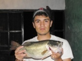 i cought this bass down in mexico. it weight 5.2 lbs. i love fishing down there. got more pictures of another couple of fishing trips down there.