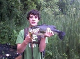 its was around 8 pounds and like 17 inches