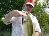 I caught this lunker (1 of many) at Wheeler Lake AL. on 23 April 2010. By my thumb calibration it went about 8 pounds. I used a rattlesnake lure and the knowlege I learned on the Bill Dance Fishing Course.Thanks Mr. Dance