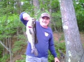 This fish was caught Memorial Day Weekend 2010 in Harold Parker State Park in Andover MA. It weighed 3 pounds 15 oz.