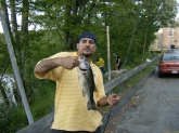 caught this baby on berkley power worm memmorial day wknd.framingham mass
