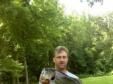 Large Mouth Bass. 7 lbs. North Carolina. Caught same day and same lake with Marc Smith's posted Catch. We wore them out!!!