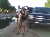 carp caught in avondale az canel...